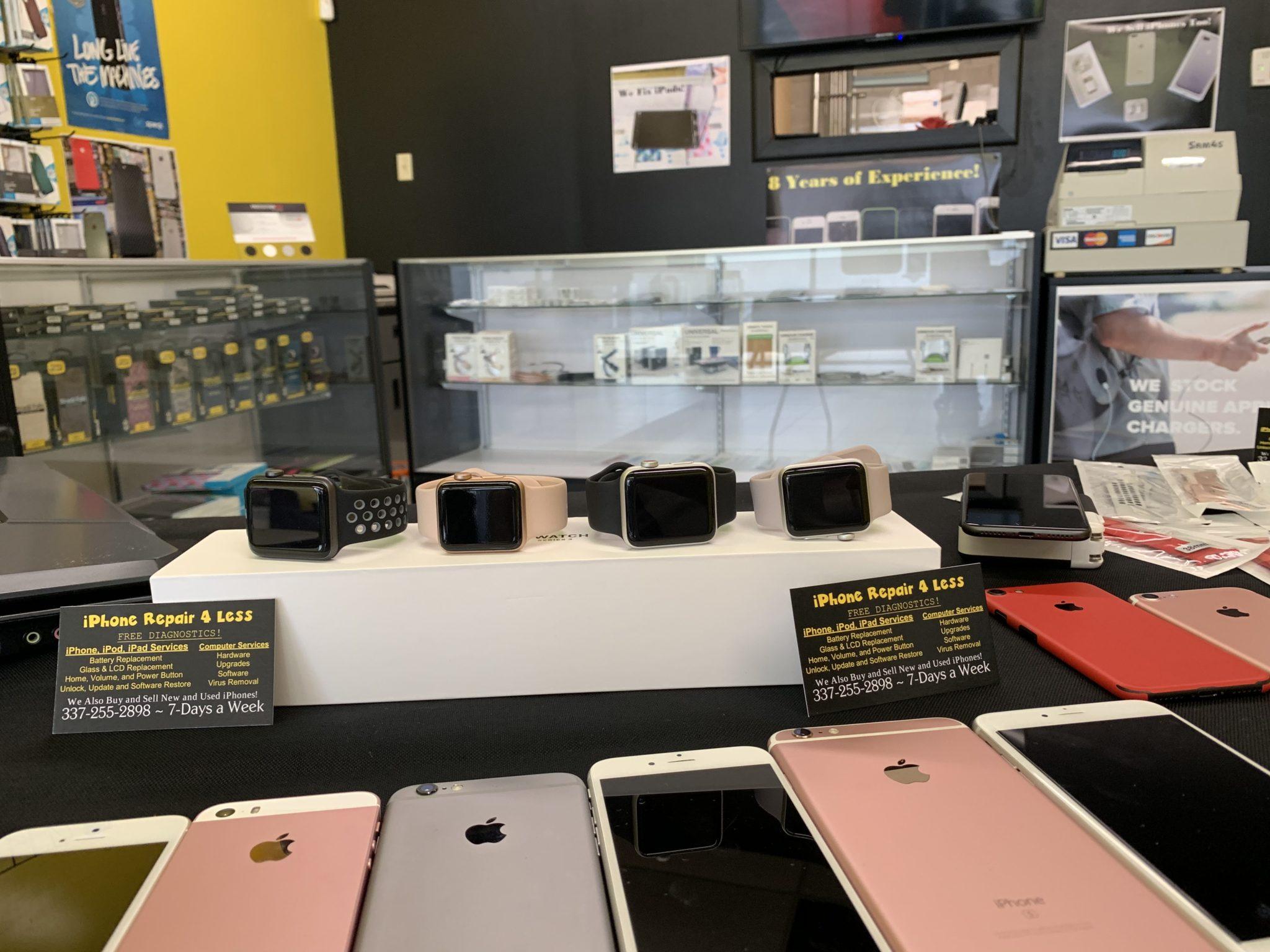 Apple Watch Repairs in Lafayette at iPhone Repair 4 Less